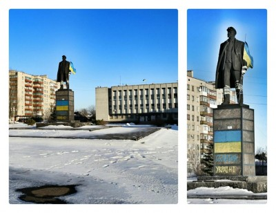 Центральная площадь города Попасная - Popasnaya.jpg
