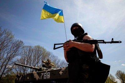 Солдат Украинской армии на блокпосту - Soldier_of_Ukraine.jpg