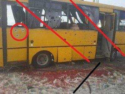 На блокпосту ВСУ под Волновахой под артобстрел попал автобус с пассажирами - 029008378.jpg