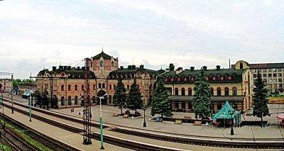 ЖД-вокзал Дебальцево с высоты птичьего полета - Debaltsevo-vokzal-1.jpg