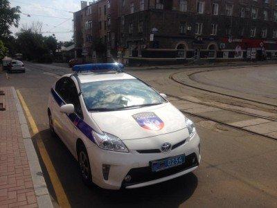 Полицейская Toyota Prius, отжатая у городской милиции Донецка - Toyota-Prius.jpg