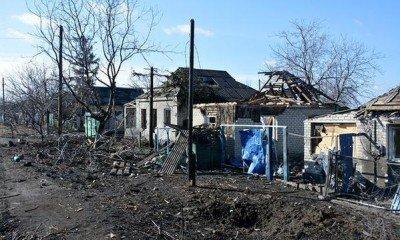 Пострадавшие дома в частном секторе - Debaltsevo-DonbassForum-09.jpg