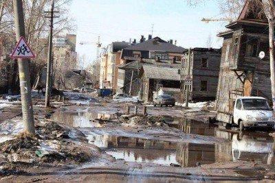 Типичная улица в России, где-то в глубинке, если быть точно - 392882.jpg
