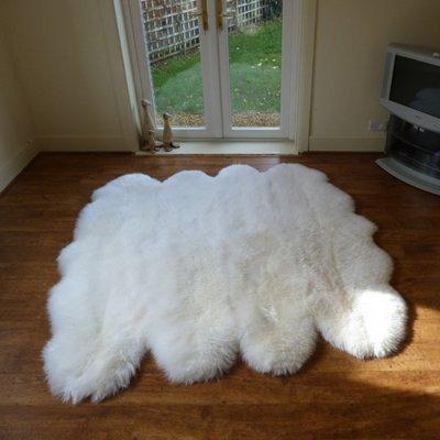 Интерьерные шкуры животных, ковры з овчины - 2.jpg