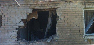 Последствия обстрела - Gorlovka_artobstrel.jpg