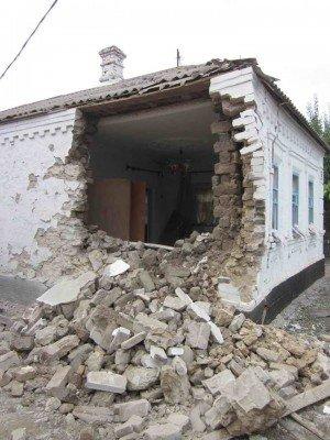 Обстрел поселка Сартана - Sartana-obstrel-1.jpg
