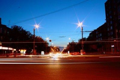 Вечерняя оккупированная Горловка - Gorlovka.jpg