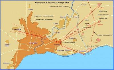Карта обстрела и возможные варианты направлений артиллерии - Mariupol_2015-01-24_ru.jpg