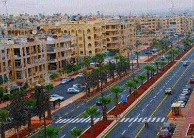 Город Алеппо, одна из центральных площадей - Aleppo.jpg