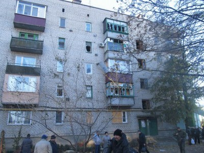 Есть попадания в жилой дом - Popasnaya-2.jpg