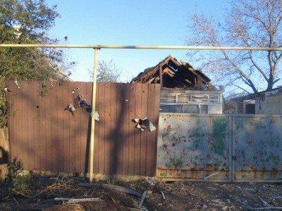 Осколками разбило забор - Popasnaya-3.jpg