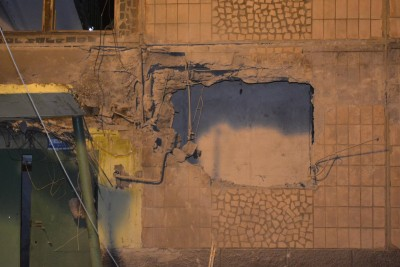 Стена практически отсутствует - Makeevka-obstrel-27.10.2016-3.jpg