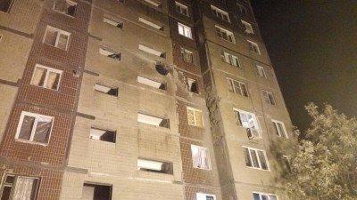 Разрушения в многоэтажке - Makeevka-obstrel-27.10.2016-11.jpg