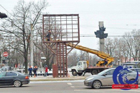 Луганск и ЛНР: как живет город после прихода к власти ополченцев - bigboard-lugansk (1).jpg