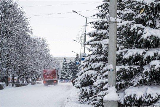 Новости, фото и видео из Краматорска, как живет город - Kramatorsk-snowing (1).jpg