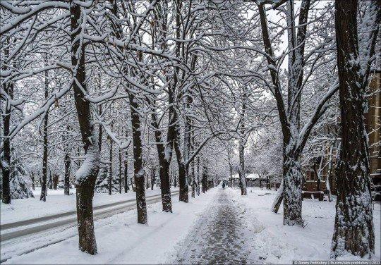 Новости, фото и видео из Краматорска, как живет город - Kramatorsk-snowing (3).jpg