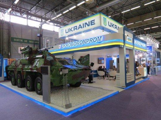 Выставка вооружения IDEX 2017: Укроборонпром представил свои военные разработки - IDEX-2017-Ukraine.jpg