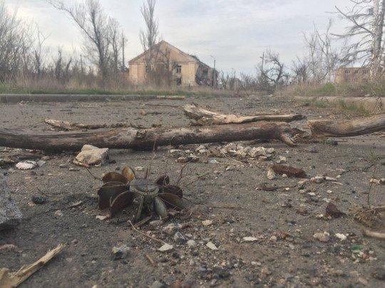 Обстановка в городке Пески, ситуация с военными действиями и перекличка - pesky (1).jpg
