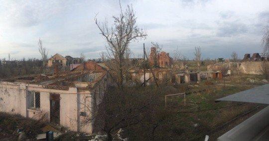 Обстановка в городке Пески, ситуация с военными действиями и перекличка - pesky (3).jpg