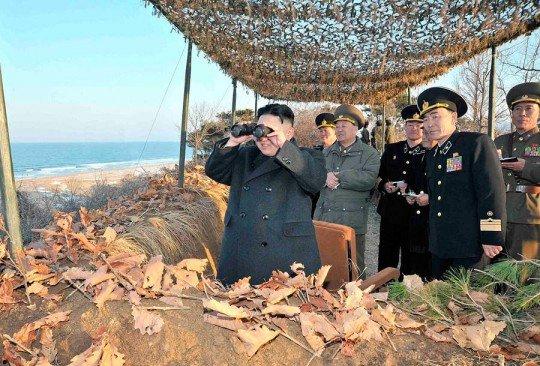 США приготовились нанести ядерный удар по Северной Корее КНДР  - kim-chen-un.jpg