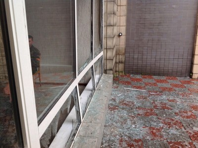 Вход в здание исполкома. Вид снаружи - Artemovsk-5.jpg
