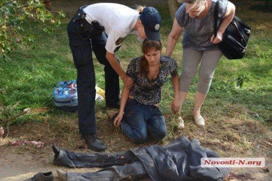 В Николаеве водитель ЗИЛ раздавил первоклассника 18 - Nikolaev (2).jpg