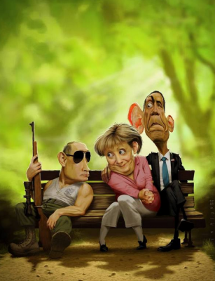 А тем временем... - Putin-Merkel-Obama.png