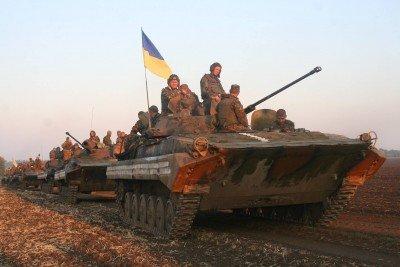 Украинские силовики в Донецкой области - tanky-ukrainy.jpg