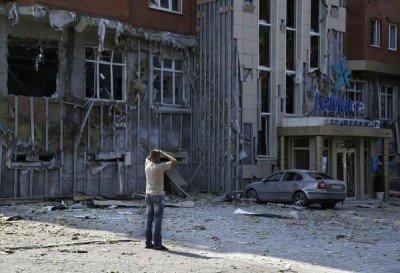 Разбомбленный торговый центр - 0000-Bomb-in-Donetsk.jpg
