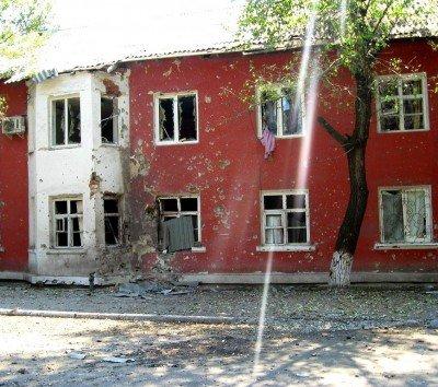 Дом в Углегорске после обстрела - 34098509.jpg