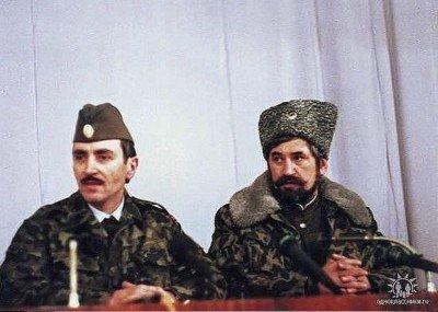 Джохар Дудаев и казак Козыцин - Dudaev-i-Kozycyn.jpg